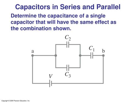 capacitor parallel connection calculator ppt capacitance and dielectrics powerpoint presentation id 3390244