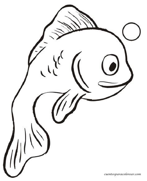 imagenes infantiles para pintar dibujos para colorear peces