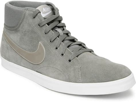 nike eastham mid casual shoes buy flat pewter md orwd brn white color nike eastham mid casual