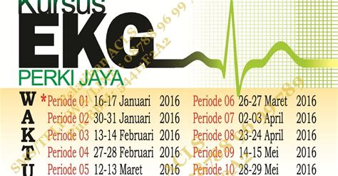 0817 0825 883 Jadwal Kursus Ekg Perki Semarang 2018 seminar kedokteran emergency course kursus ekg kegawatdaruratan 2016