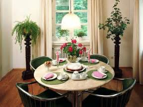 Decorated Dining Tables Interior Decorating Ideas For Small Dining Rooms