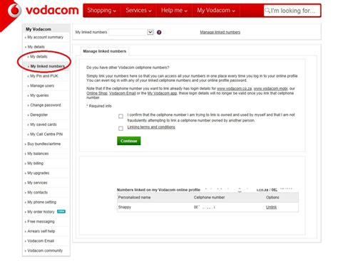 vodacom puk number solved how to add additional numbers to myvodacom
