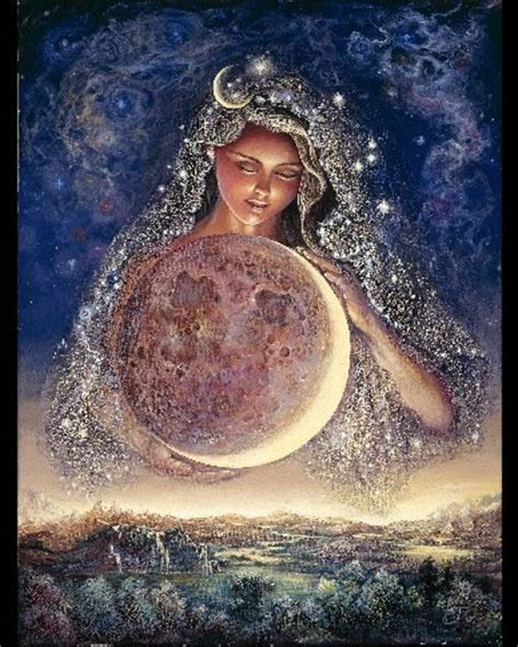 goddess designer manifesting with the moon cycles and s m a r t goals nurturing your passions desires into abundance books moon goddess wall6026