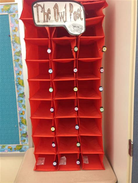 ikea mailbox my classroom mailboxes bought hanging shoe organizers from ikea 5 years ago for 2 50 each