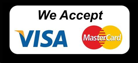 we accept cards sticker template we accept visa mastercard credit cards wall sticker shop