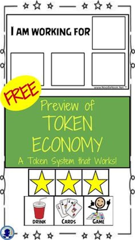 token reward system template token economy charts and chore charts on