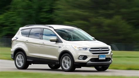 suv ford escape 2017 ford escape maintains athletic appeal for a small suv