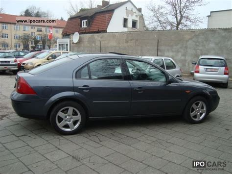 Irobot Tieferlegen by Ford Mondeo 2 0 2002 Auto Images And Specification