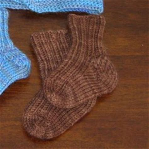 knitted slippers pattern with two needles 2 needle knitted sock pattern free knitting and crochet