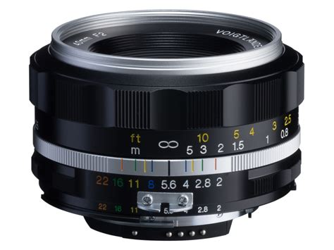 Voigtlander Nikon new voigtlander ultron 40mm f 2 sl ii s lens for nikon f