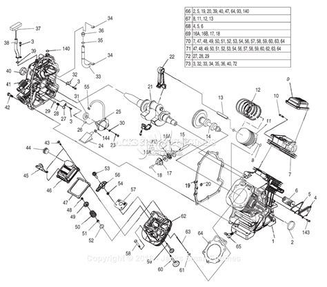 generac parts diagram generac 4390 2 parts diagram for engine gt990 760