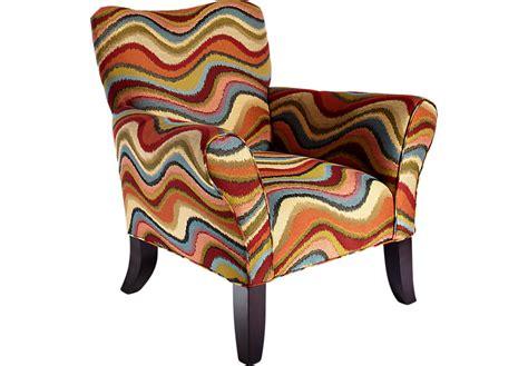 Retro Accent Chair Retro Festival Orange Accent Chair Accent Chairs Orange