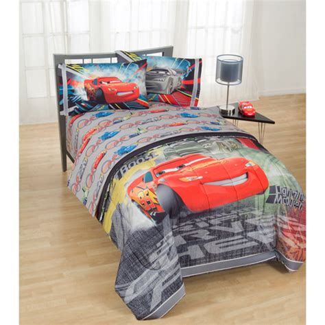 disney cars bedding set disney pixar cars kids bed sheet set walmart com