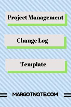 change log template project management change log template project management templates