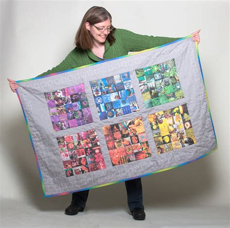 Photo Quilt Fabric by How To Create A Photo Cheater Quilt Spoonflower