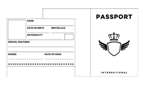 Passport Photo Template Beneficialholdings Info Us Passport Photo Template