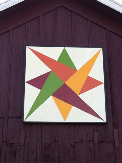 Barn Quilt by Barn Quilt Quilt On A Barn