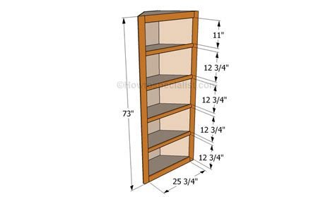 how to build corner shelves howtospecialist how to