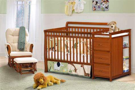 Baby Cribs And Changing Table Dorel Crib Changing Table Combo Cherry Baby Baby Furniture Cribs