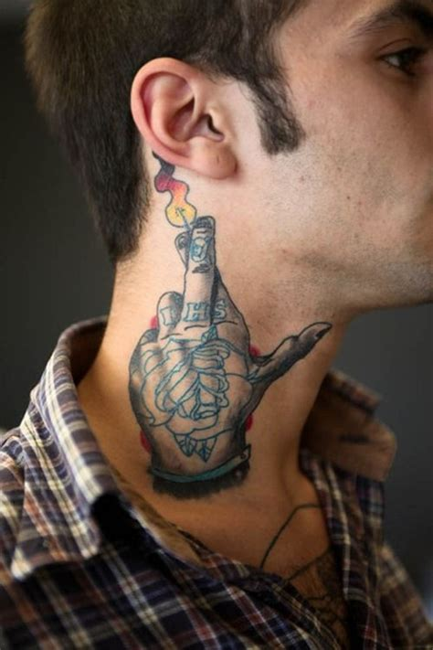 neck tattoos for designs ideas and meanings tattoos