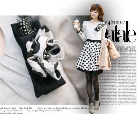 Dress Lucu Import by Dress Import Korea Lengan Panjang Cantik Model Terbaru