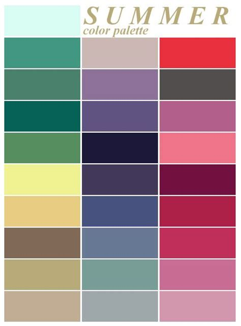 summer colors best 25 summer colours ideas on pinterest