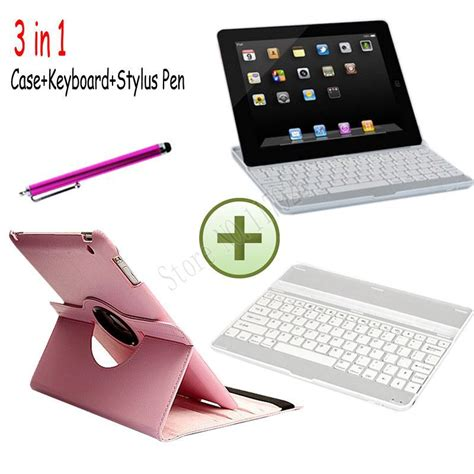 Casing 4 Cover 3 2 Rotate 3 in 1 360 rotating cover for 2nd 3rd 4th aluminum wireless bluetooth keyboard for