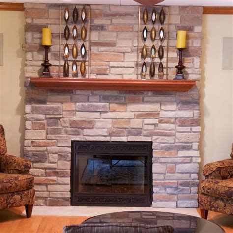 Ledgestone Fireplace Pictures North Star Stone Stacking Fireplace