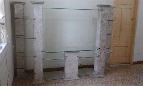 estante olx rj estante de granito e prateleiras de vidro m 243 veis