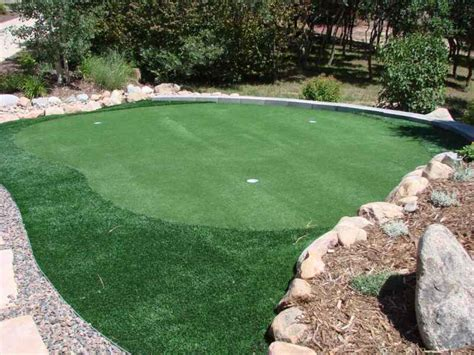 golf putting  chipping greens  seasons landscaping