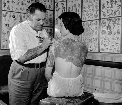 tattoo repair nyc stunning vintage photographs of early c20th tattoo artists