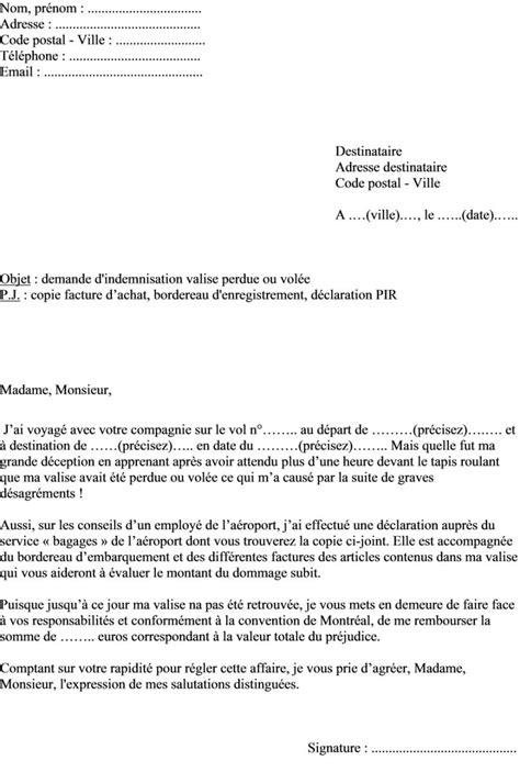 Exemple De Lettre Administrative A Forme Personnelle Modele Lettre Administrative En Forme Personnelle