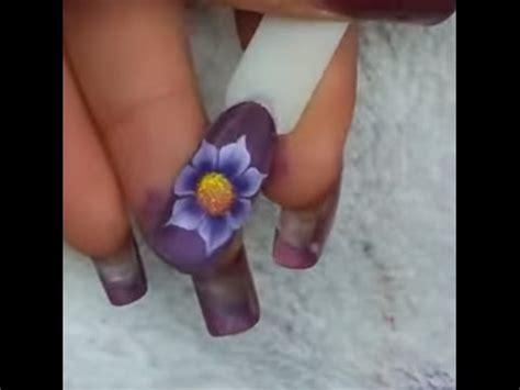 micropittura fiori fiore semplice one stroke micropittura