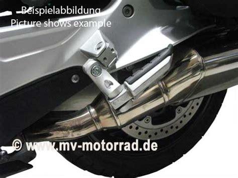 Mindestalter F R Motorrad Sozius by Mv Fu 223 Rastentieferlegung Sozius Verstellbar Bmw R1150rt