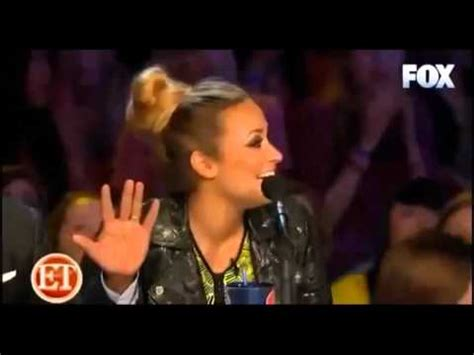 demi lovato x factor auto tune demi lovato getting burned on x factor usa quot that s why