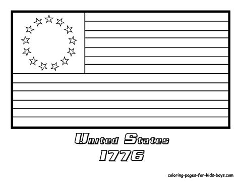 flag coloring page for kindergarten american flag coloring page preschool coloring pages for