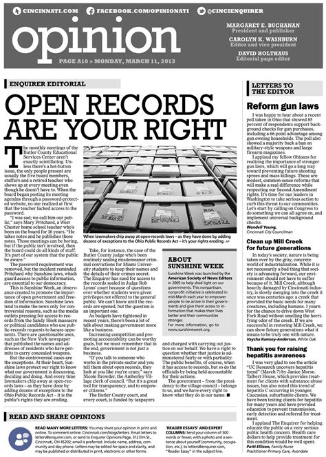 newspaper opinion section image gallery opinion column