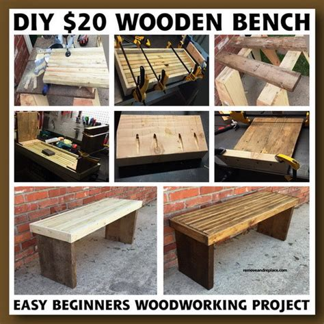 Lowes Canada Kitchen Cabinets diy 20 dollar beginner wooden bench project