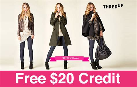 Thredup Gift Card - free 20 thredup credit and free shipping us only