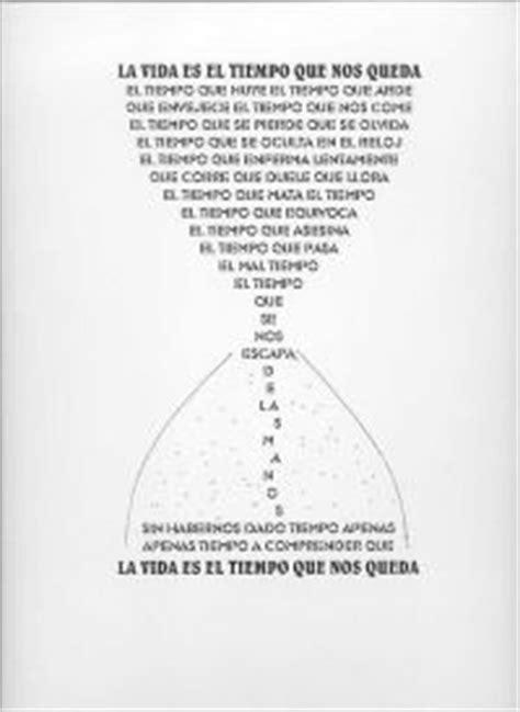 imagenes visuales de un poema alasbarricadas foros ver tema caligramas