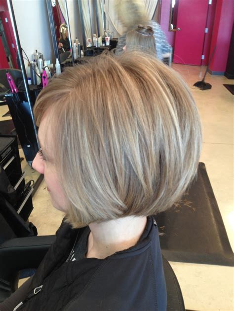 Hairstyles For Growing Stacked Bob Out | how to grow out a stacked bob haircut short hairstyle 2013