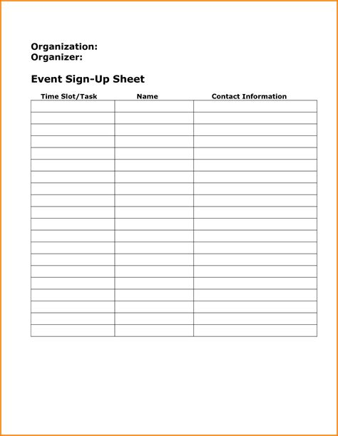 stin up templates for boxes sign up sheet template authorization letter pdf