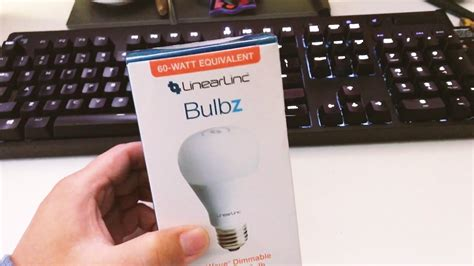 gocontrol z wave dimmable led light bulb gocontrol z wave dimmable led light bulb lb60z 1 unboxing