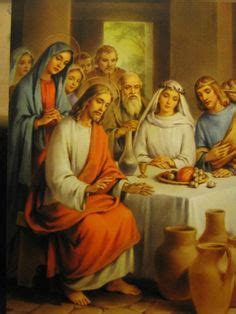 Wedding At Cana Sermon Illustration by Catholic Teaching The Wedding At Cana Is Jesus