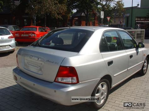 2002 hyundai accent 1 3i cup 1 car photo and specs
