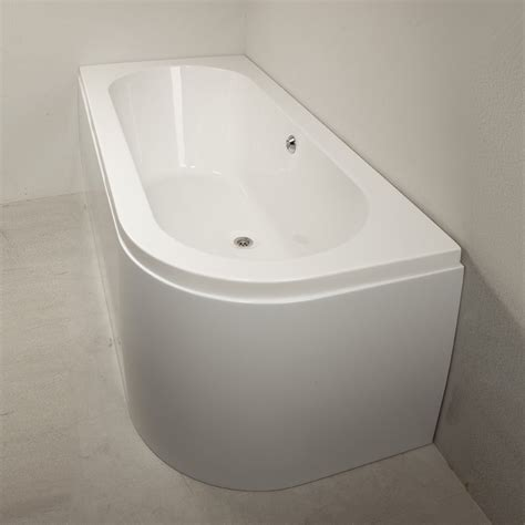 Henley Plumbing Supplies by Qualitex Plexicor Henley Offset Skirted Bath 1700 X