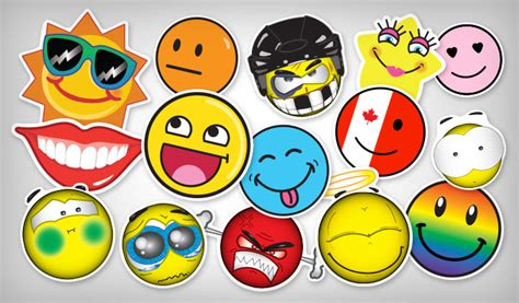 Sticker Smileys by Smiley Stickers Stickeryou Products