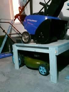 Garage Organization Lawn Mower 25 Best Ideas About Storage Shed Organization On