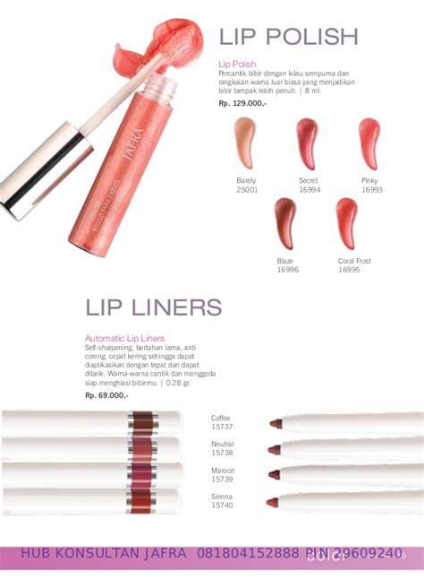 Lipstik Jafra Matte jafra katalog