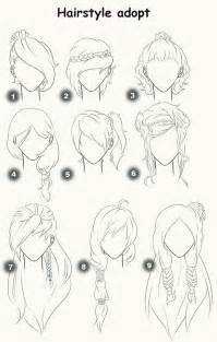 hairstyle adopts closed by x3misteryyuyux3 deviantart